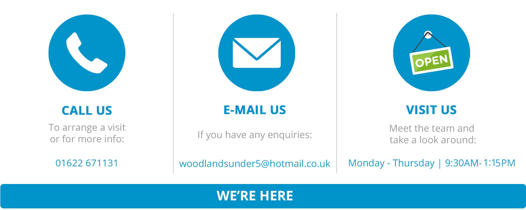 Woodlands Contact Us